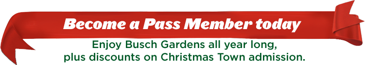 Become a Pass Member today, and enjoy discounts on Christmas Town admission.