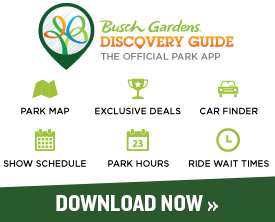 Busch Gardens Mobile App - Check the park hours, show schedule, events, park map and more!
