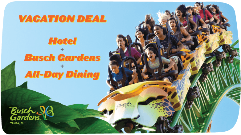 Getaways Vacation Offers Busch Gardens Tampa