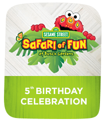 Busch Gardens Tampa Sesame Street Safari of Fun
