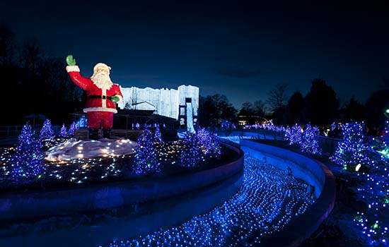 The Coastal Virginia Hampton Roads Experience Christmas Town Busch Gardens Williamsburg
