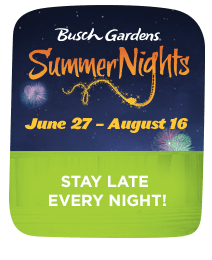 Summer Nights at Busch Gardens